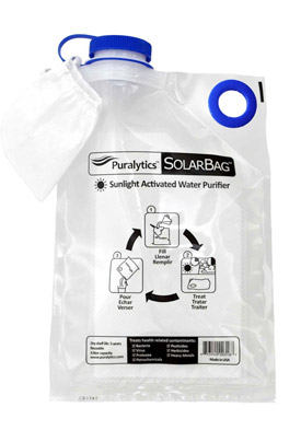 SolarBag: Nanotechnology Water Treatment   Water Rx & Off