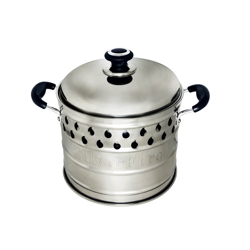 Dragon Pot With Steam Basket Cookware