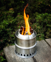 Image 304 Stainless Steel Scout Stove