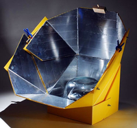 Image Adjustable Solar Cooker / Oven