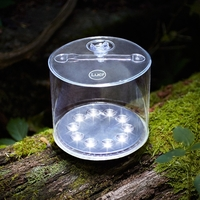 Image Luci Outdoor 2.0  Inflatable Solar Lantern Clear
