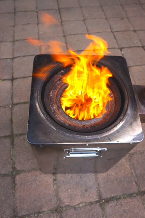 Hunter Chimney Gasifier Stove Stoves Backpack Stove